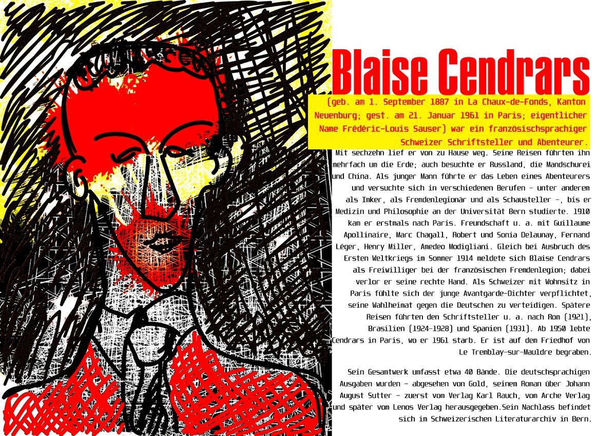 Blaise Cendrars, Moravagine