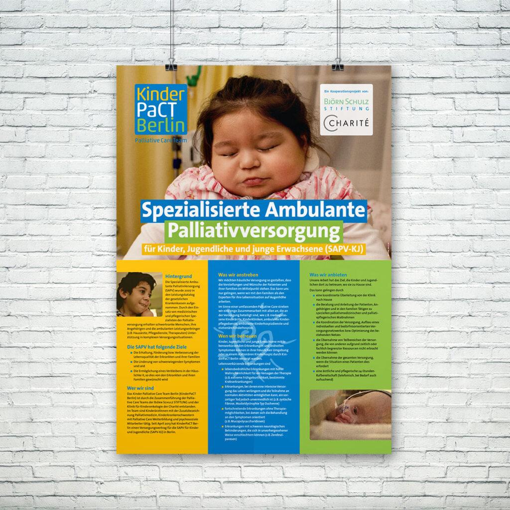 Kinder-PaCT Berlin, Plakat