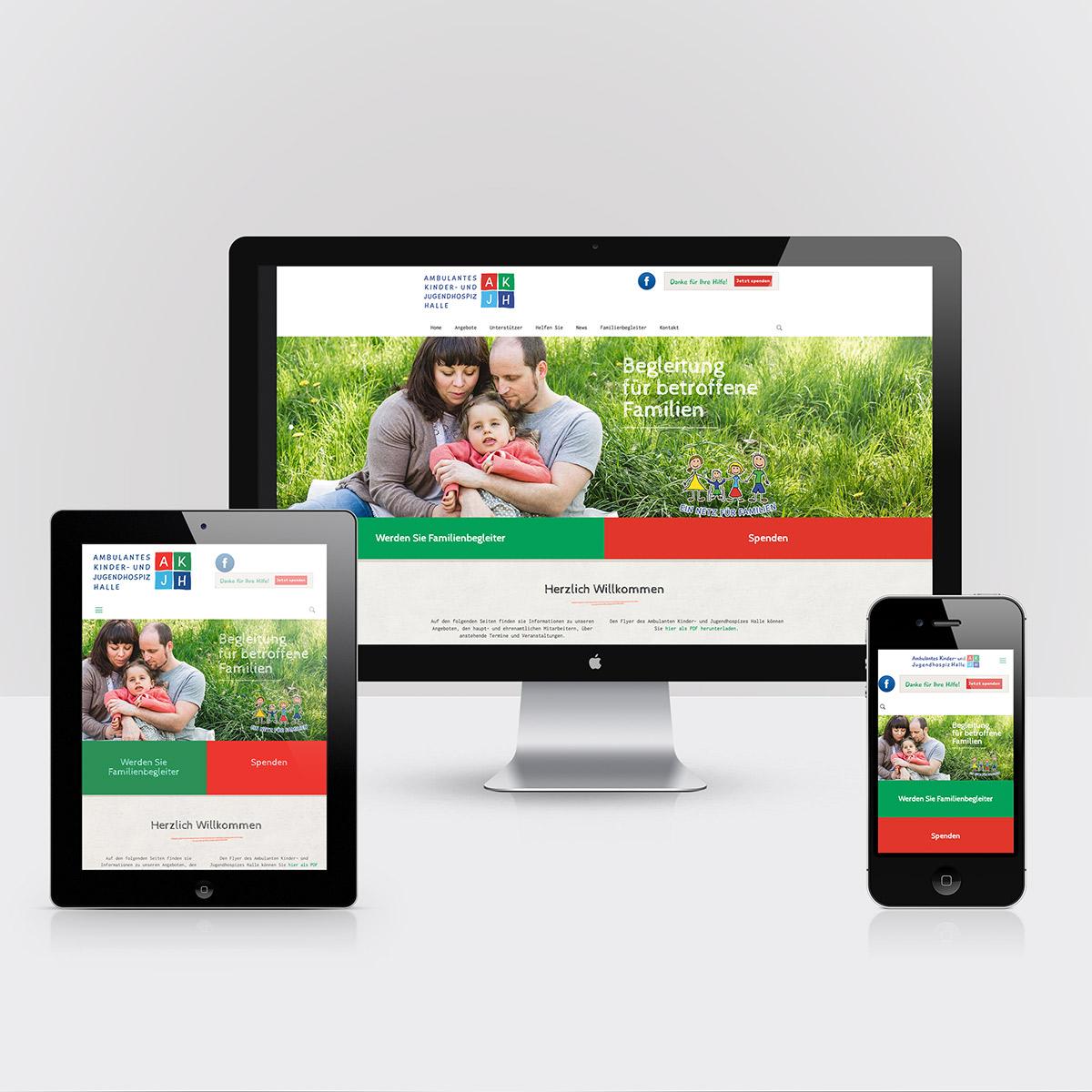 AKJH Website Halle