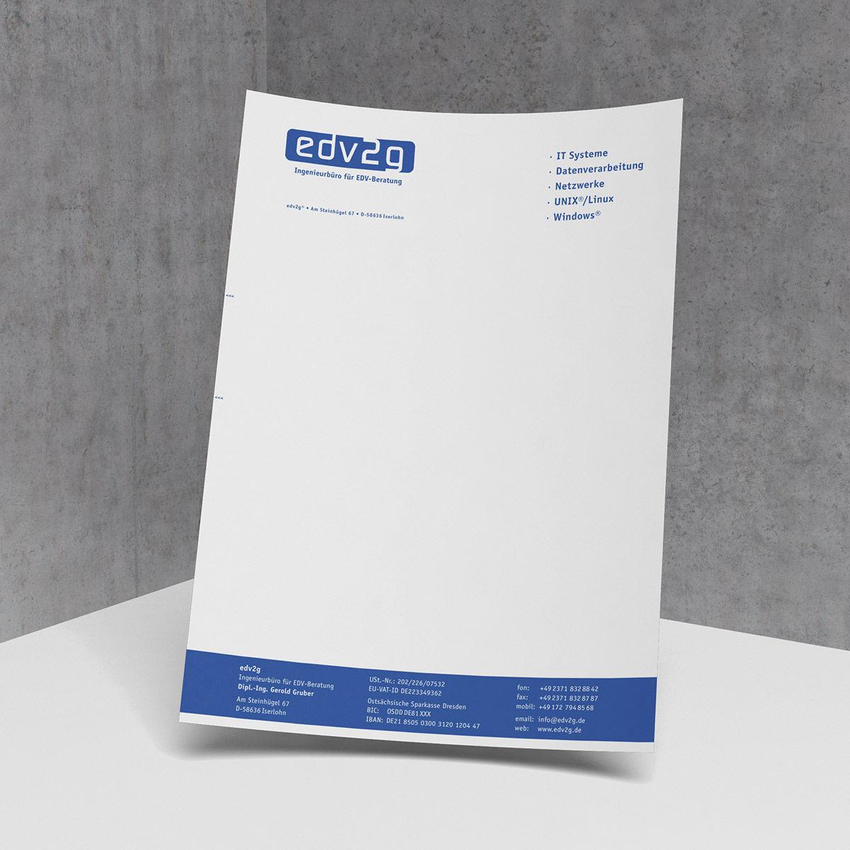 EDV2G Briefbogen