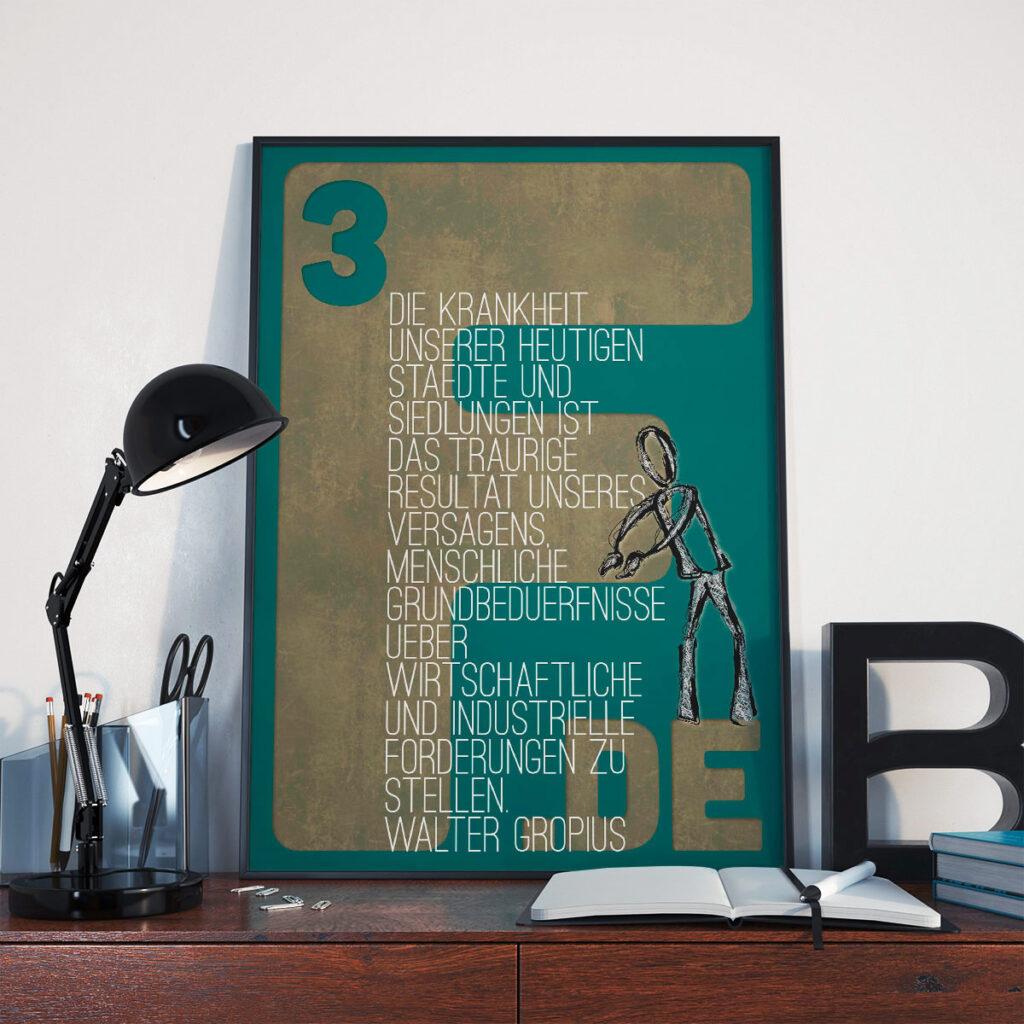 3f-Poster (Walter Gropius)