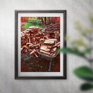 Holzarbeiten Grafik
